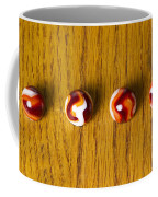 Marbles Red Orange Swirl 1 Coffee Mug
