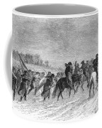 March To Trenton, 1776 Coffee Mug