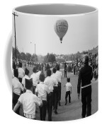 Marchers Number 2 100th Anniversary Parade Nogales Arizona 1980 Black And White  Coffee Mug