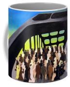 Marching Into History Coffee Mug