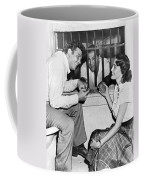Marciano In A Movie Jail Set Coffee Mug by Underwood Archives