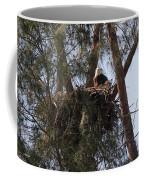 Marco Eagle - Protecting Its Nest Coffee Mug