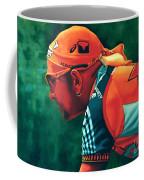 Marco Pantani 2 Coffee Mug by Paul Meijering