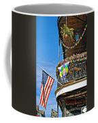 Mardi Gras Balcony Coffee Mug