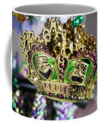 Mardi Gras Beads Coffee Mug