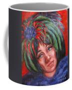 Mardi Gras Girl Coffee Mug