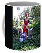 Mardi Gras Scarecrow At Bellingrath Gardens Coffee Mug