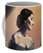 Maria Callas Painting Coffee Mug