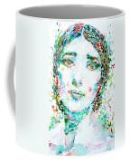 Maria Callas - Watercolor Portrait.1 Coffee Mug