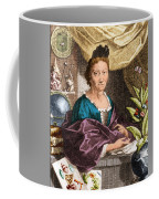 Maria Merian  Coffee Mug by Science Source
