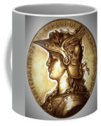 Limited Edition  Marianne Gold Coffee Mug
