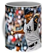 Mariano Rivera Painting Coffee Mug