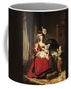Marie Antoinette And Her Children Coffee Mug by Elisabeth Louise Vigee-Lebrun