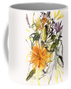Marigold And Other Flowers Coffee Mug
