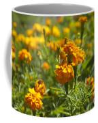 Marigold Flowers Coffee Mug