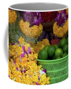 Marigolds And Limes Coffee Mug