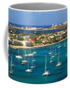 Marigot Harbor St. Martin Coffee Mug