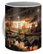 Marigot Marina At Night Coffee Mug