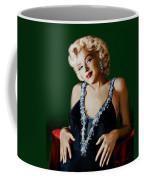 Marilyn 126 Green Coffee Mug
