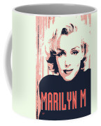 Marilyn M Coffee Mug