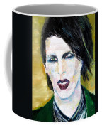 Marilyn Manson Oil Portrait Coffee Mug