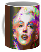 Marilyn Monroe 01 - Abstarct Coffee Mug