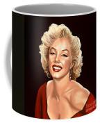 Marilyn Monroe 3 Coffee Mug by Paul Meijering
