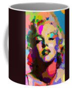 Marilyn Monroe - Abstract Coffee Mug