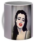 Marilyn Monroe Aka Norma Jean Artistic Impression Coffee Mug