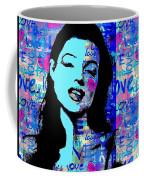 Marilyn Monroe.  Loved And Lost. Loved Again Coffee Mug