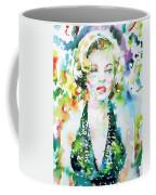 Marilyn Monroe Portrait.1 Coffee Mug