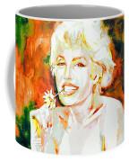 Marilyn Monroe Portrait.9 Coffee Mug