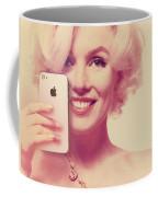 Marilyn Monroe Selfie 1 Coffee Mug