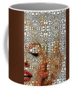 Marilyn Monroe - Stone Rock'd Art Painting Coffee Mug