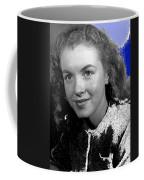 Marilyn Monroe Then Norma Jeane Dougherty Photo By H. Maier Studios Los Angeles Ca C.1943-2014 Coffee Mug