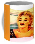 Marilyn Monroe Tribute Silked Curves Coffee Mug