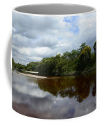 Marimbus River Brazil Reflections 4 Coffee Mug