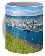 Marina Along Homer Spit-ak Coffee Mug