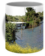 Marina At Miners Slough Coffee Mug
