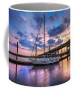Marina At Sunset Coffee Mug