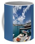 Marina St Thomas Virgin Islands Coffee Mug by Amy Cicconi