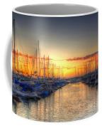 Marina Summer Sunset Coffee Mug