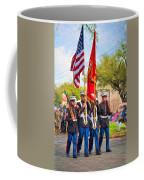 Marine Color Guard - Paint Coffee Mug