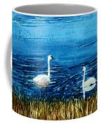 Marion Lake Swans Coffee Mug