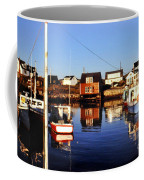 Maritme Shadows And Reflections Coffee Mug