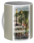 Mark Twain Riverboat Frontierland Disneyland Vertical Photo Art 01 Coffee Mug