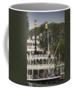 Mark Twain Riverboat Frontierland Disneyland Vertical Coffee Mug