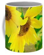Mark Twain's Sunflowers Coffee Mug