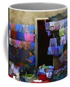 Market At Santiago Atitlan Guatemala Coffee Mug