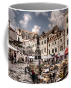 Market Day In The White City Coffee Mug